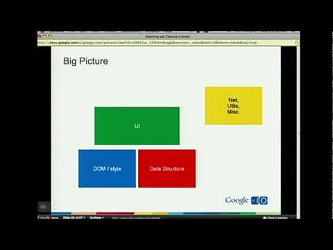 Google I/O 2010 - Opening up Closure Library