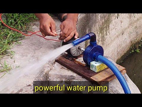 How to Make a Powerful Water Pump  using 24 v bike Motor