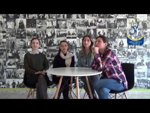 Students of Ilia State University (Georgia) share their experience at Vilniaus kolegija