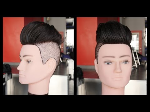 How To Get Thicker Hair Volume For An Undercut Thesalonguy Youtube