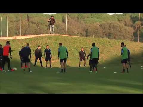Champions League, Napoli-Shakhtar Donetsk: la rifinitura a Castel Volturno (20-11-2017)