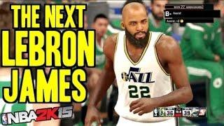 NBA 2K15 My Park/Online - The Next Lebron James (HILARIOUS)