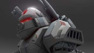 GORE ZOID CG Animation Preliminary Test HD