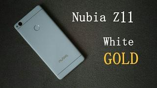 Белое золото 2017 года: ZTE Nubia Z11