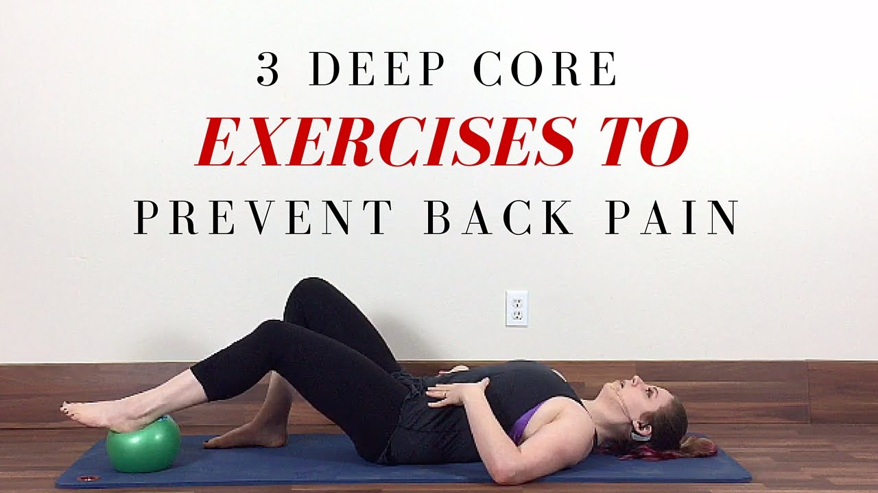 3 Transverse Abdominis Exercises For Core Stability Youtube