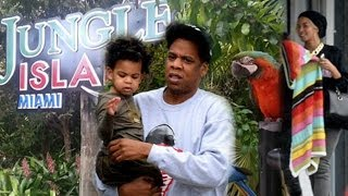 Beyonce And Jay Z Rent Out A Jungle For Blue Ivy