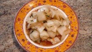 Stir Fried Bok Choy With Sweet Chili Sauce