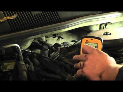 How to test a crank sensor with a voltmeter (All Chrysler models)