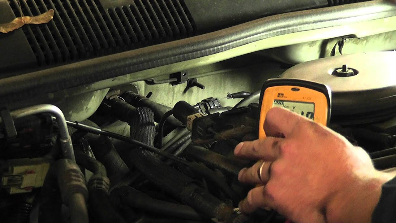 How To Test A Crank Sensor With Voltmeter All Chrysler Models 1993 Plymouth Voyager Wiring Diagram