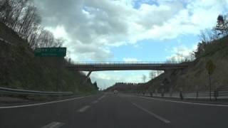 【車載】東北道・高舘PA→下北道・野辺地北IC→道の駅・よこはま【HD】