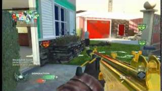69-5 NukeTown domination. video commentary. Gold Galil!