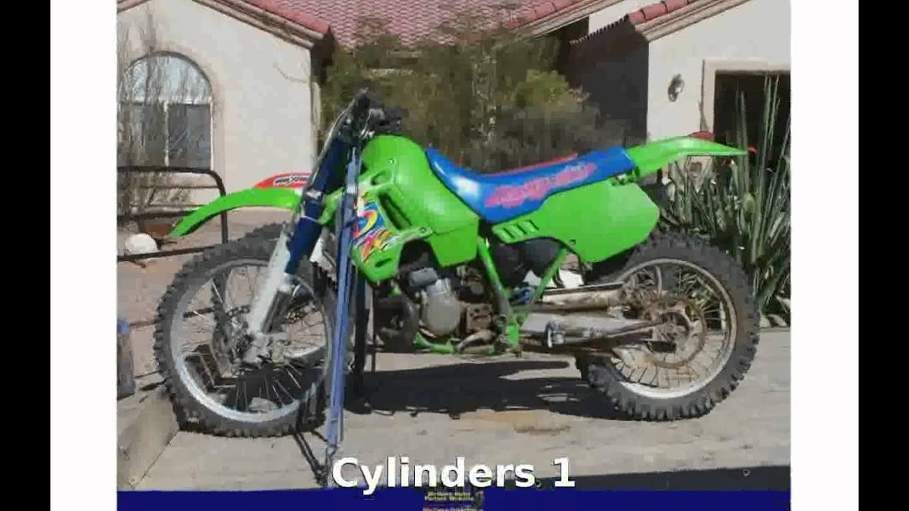 2006 Kawasaki KDX 50 Details - YouTube
