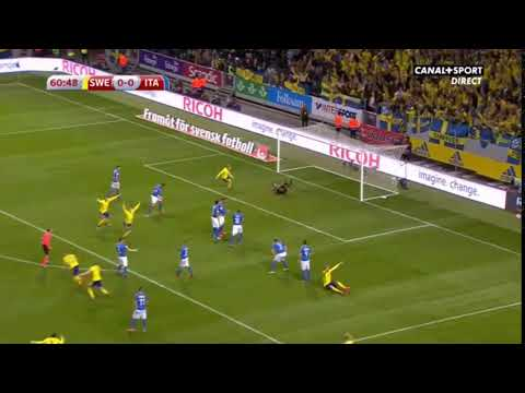 Jakob Johansson's goal against Italy 10.11.2017
