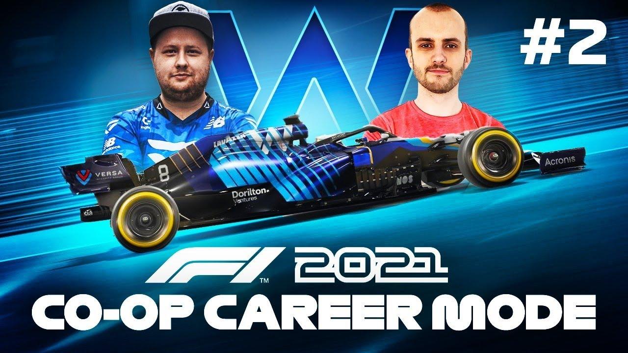 F1 2021 Co Op Career Mode Part 2 - MONACO GRAND PRIX