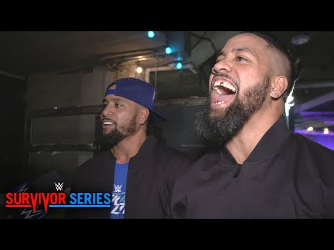 "The Usos claim SmackDown is the ""A"" show after Kickoff victory: WWE Exclusive, Nov. 18, 2018"