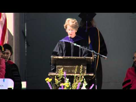 Law Professor Eleanor Swift speaks at Berkeley Law Commencement