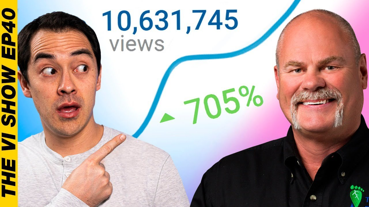 How to Get 10,524,163 Views in 2 Months With Roger Wakefield! #vishow 40