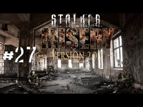 STALKER Call of Pripyat MISERY 2.0 .2 Walkthrough YANOV Crashed UAV Anomaly Research Part 27