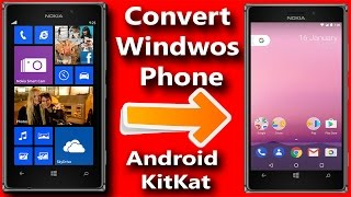 Windows phone को  5Min में  Android में बदले ! Convert Windows Phone to Android 2017