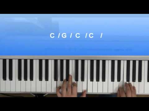 Klavier lernen: Mit Akkorden C und G frei spielen