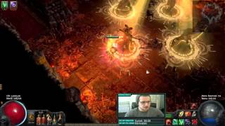 [Path of Exile] Cheap and Effective Atziri Farming Build! (30-40c Budget)