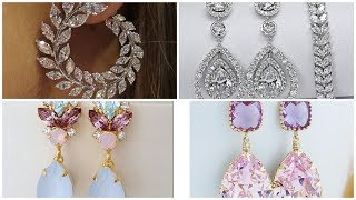 #Stylish beautiful #crystal #earrings collection, Crystal Dreams Earrings 2020 designing