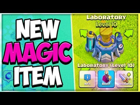 NEW Laboratory Potion Sneak Peek | Magic Hammer Cooldown | Clash Of Clans