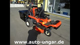 Youtube-Video Kubota GZD 15- II Glide Cut + Zero Turn mit Hochentleerung Mäher