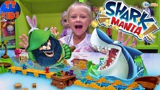 Игрушки для детей - Игра Акула Shark Mania - Играем с Ярославой Видео для детей Games for children