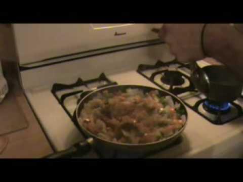 Paella Vegetariano con Octavio y Laura