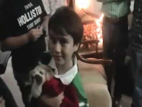 Santi y Tom En Navidad 2012