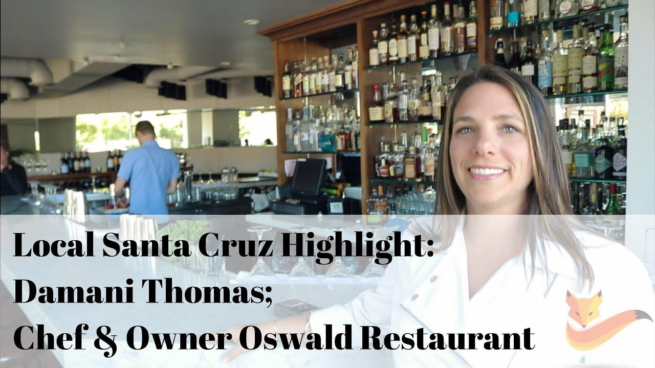 Chef & Owner of Oswald Restaurant: Damani Thomas!