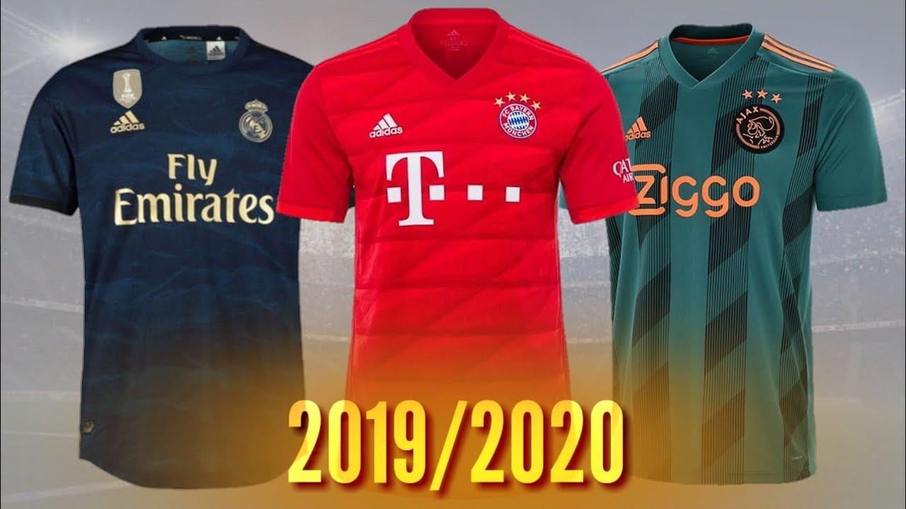 Novos Uniformes Dos Principais Times Da Europa 2019 2020