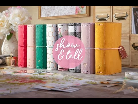 Webster's Pages 2018 Color Crush Planner Lineup - Show and Tell
