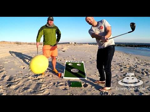 Golf + Cornhole = Chippo, Every Bro's Next Great Tailgating Game