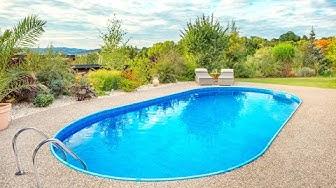 Stavba bazénu Ibiza Family (ovál)
