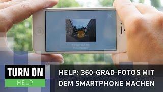 So gelingen 360-Grad-Fotos auf dem Smartphone