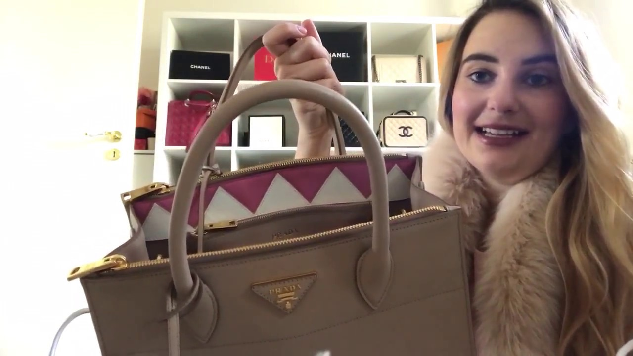 4917fc947b7fb3 The PINK MACARON' s very very very first vlog: Unboxing PRADA Paradigme  Saffiano Bag