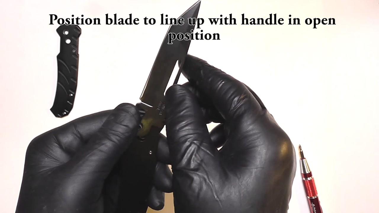Automatic Knife Kit Assembly