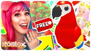 How To Get A FREE Legendary PARROT Pet In Adopt Me.. Roblox Adopt Me NEW JUNGLE PETS Update