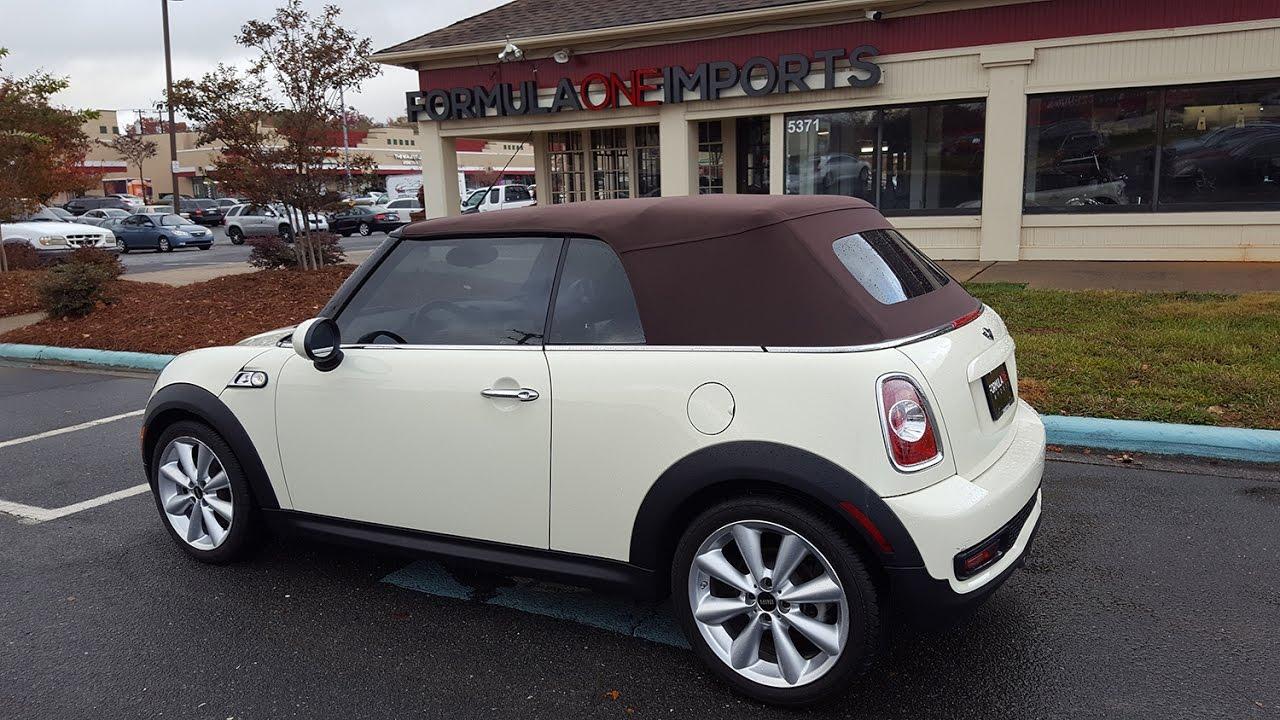 2011 mini cooper s convertible value
