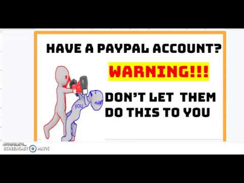 Warning Paypal Users!!!!  PayPal Is Doing This...Beware