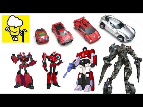 Different Sideswipe Transformer Robot Lamborghini Toys ランスフォーマー 變形金剛 Robots In Disguise