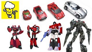 Different Sideswipe Transformer robot lamborghini toys   robots in disguise