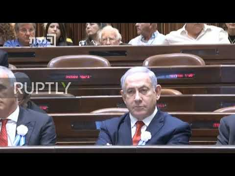 Israel: Rivlin urges parties to form 'government of national unity' at Knesset swearing-in