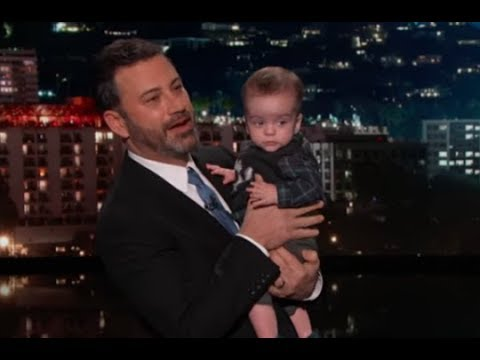 Jimmy Kimmel Brings In Infant Son With Heart Disease To Attack Republicans, It Backfires Big Time