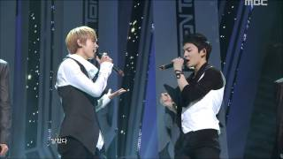 TEEN TOP - The Back Of My Hand Brushes, 틴탑 - 손등이 스친다, Music Core 20110910