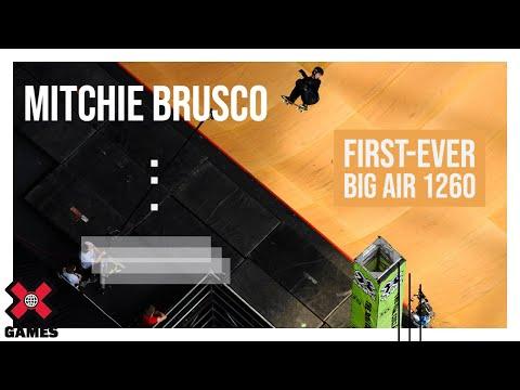 Brazilian Pro Skateboarder Mitchie Brusco Lands World's First 1260 at X Games