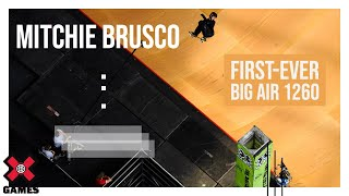 NBD Mitchie Brusco S First Ever Big Air 1260 X Games Minneapolis 2019