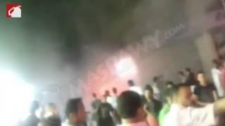 بالفيديو..حريق محدود في كابل كهربائي بطلعت حرب يتسب في ارتباك مروري